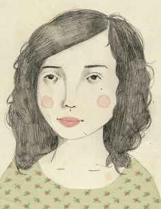 St. Vincent. by Clare Owen - I like the restricted palette
