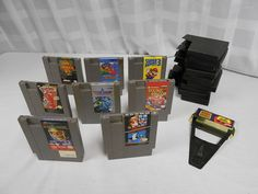 Original Nintendo Entertainment System Game w/Game Genie Lot 8 Super Mario Bros. $0.98 ONLY 1 DAY LEFT