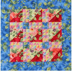 Watercolor Quilting Project