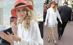 ANDPOP | Look For Less: Cara Delevingne's Lady-Like Cannes Look