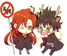 Read Like father like son!😈👿😈👿 from the story All HP Couple❤️ by with 500 reads. Harry Potter Fan Art, Harry Potter World, Harry Potter Anime, Fans D'harry Potter, Mundo Harry Potter, Lily Potter, James Potter, Harry Potter Universal, Harry Potter Fandom