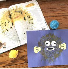 Ocean Week Fish Crafts, Crafts To Do, Arts And Crafts, Paper Crafts, Ocean Activities, Kindergarten Activities, Hobby Lobby Decor, Crate Paper, Ocean Creatures