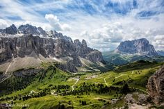 Dolomites, Italy, for hiking.