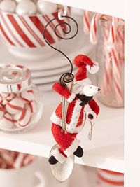 Make a Santa Claus Mouse Ornament from Better Homes and Gardens