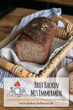 Werbung / Brot backen mit Emmermehl - so einfach gehts! #Rezept #brotbacken #brot #emmer #emmermehl #urkorn