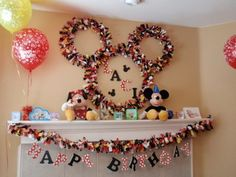 mickey mouse birthday food ideas - Bing Images