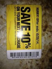 Home Depot 10% coupon... one option for something big.  (Buy a coupon on Ebay)