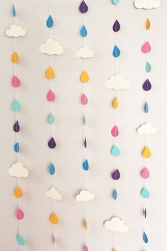 #Clouds garland
