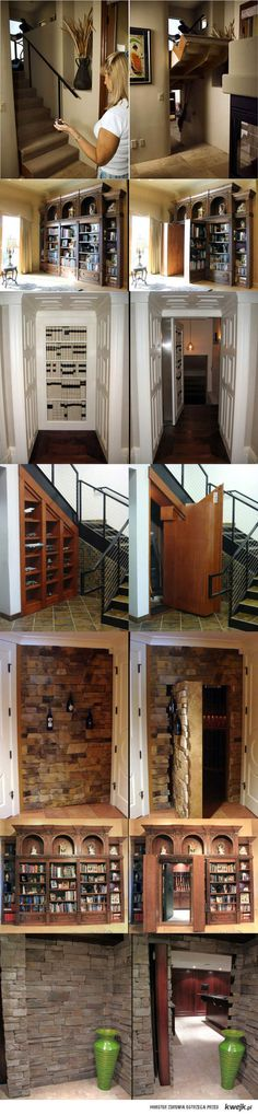 Cool! I've always had a fascination with hidden rooms!