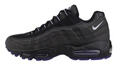 new concept d4057 c635e Nike Air Max 95 - Black - Court Purple - Wolf Grey - SneakerNews.com