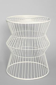 Assembly Home Wire Table - Urban Outfitters Home Furniture, Furniture Design, Garden Furniture, Outdoor Furniture, Wire Table, Urban Outfitters, Metal Accent Table, Inspired Homes, End Tables