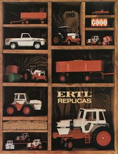 John Deere Equipment, Farm Toys, Toy Trucks, Displaying Collections, Toy Storage, Old Toys, Vintage Advertisements, Scale Models, Vintage Toys