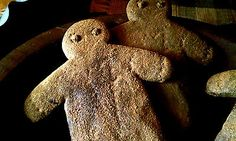 PRiMiTiVE-2-Gingerbread-Man-Blackened-BeesWax-Spiced-Gingers-Bowl-Filler-Ornies