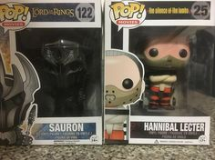 #MailCall! #FunkoPop #HannibalLecter and #Sauron! Betcha' #CantBuyJustOne! #LordoftheRings #LOTR #SilenceoftheLambs #AnthonyHopkins #DarkLord #Funko #PopVinyl #FunkoCollector #FunkoCollection #SoDamnCute