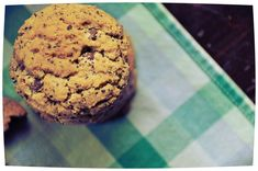 Chocolate Chip-Ground Coffee Bean Cookies