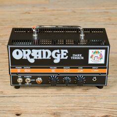 Orange Dark Terror Class A Tube Head 15/7W (USED)