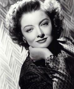 Myrna Loy, late 30's & 40''s