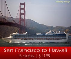 Hawaii cruise deals from san francisco