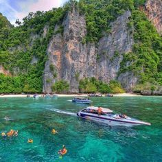 Phi Phi Island, Thailand. Love it here... Should make a plan to go back soon... ;)
