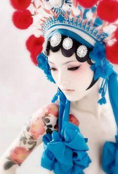 chinese opera styling
