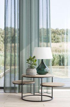 Transparent curtain fabric: Escada II by Holland Haag. - Transparent curtain fabric: Escada II by Holland Haag.
