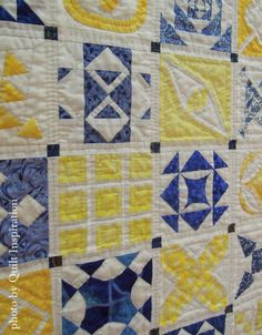 close up, California Jane by Kathy Fitzpatrick. Hand quilted. 2015 DVQ show.  Photo by Quilt Inspiration.