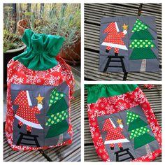 Machen und Tun: Santas bag - paper piecing