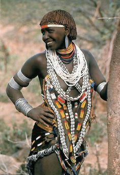Africa | Hamer woman, Omo Valley, Ethiopia |  the work of Carol Beckwith and Angela Fisher in a study of the women of the Horn of Africa, Ethiopia and the surrounding countries