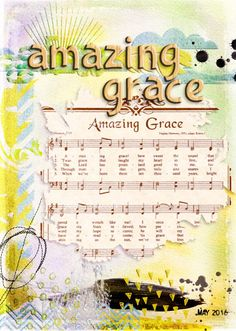 Amazing Grace Bible journaling digitally. Free Printable June 2016 Calendar 30 Days of Bible Reading Challenge with room to jot down list and birthdays. Ready for our fridge. How to do a Topical Bible study on Grace.  #biblejournaling