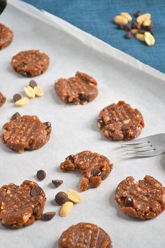 No Bake Vegan Peanut Butter Chewies  |   Food Doodles