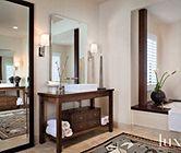 Limestone floor master bath | Bathrooms | LUXE Source