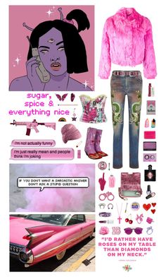 """""""So young and crazy: if you don't believe I'm a unicorn you can't live on my rainbow"""" by nothingisnormal ❤ liked on Polyvore featuring Sies Marjan, Thelermont Hupton, Kate Spade, Off-White, INC International Concepts, Christian Dior, Hot Topic, Gucci, Rodin and Kiehl's"""