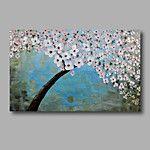 Pintados à mão Abstracto / Floral/BotânicoModern 1 Painel Tela Hang-painted pintura a óleo For Decoração para casa de 2016 por R$112.59