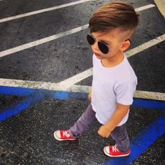 park casual little boy style