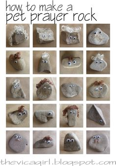 Arent they soooo cute? How to make your own pet prayer rock by VaLon at Things I Green and Do Not Green Sunday School Crafts For Kids, Bible School Crafts, Bible Crafts, Crafts For Teens, Children's Church Crafts, Vbs Crafts, Camping Crafts, Preschool Church Crafts, Toddler Church Crafts
