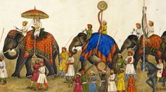 A book of illustrations painted in the 1840s reflects one British ambassador's affection for Delhi - and brings to an end a 2,000-year-old tradition of Indian painting.