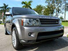 2011 Land Rover Range Rover Sport, Stornoway Gray #landroverpalmbeach #landrover #rangerover
