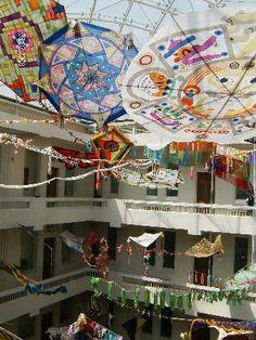 Papalotes en el Museo