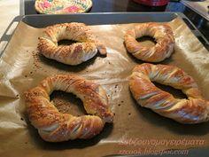 Ζουζουνομαγειρέματα: Κουλούρια βουτύρου ΦΑΝΤΑΣΤΙΚΑ!!! Bagel, Shrimp, Cooking Recipes, Bread, Food, Recipes, Chef Recipes, Brot, Essen
