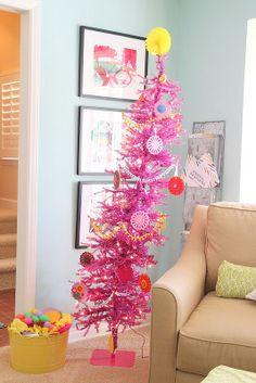 Pink Dazzling Diva Tree - from fan in Malibu