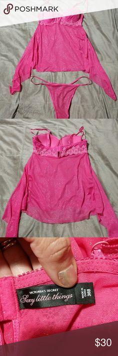 VS Lingerie Dark pink Victoria's Secret Lingerie set. New without tags. Victoria's Secret Intimates & Sleepwear