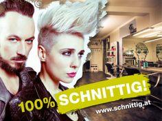 Das SCHNITTIG Sujet passend zu der Serie von Hairhunter - www.schnittig.at