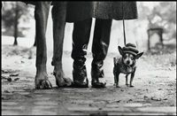 Felix, Gladys and Rover. USA. New York by Elliott Erwitt