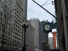 The Marshall Field Clock, Chicago