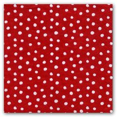 Small Dots Red Luncheon Napkins