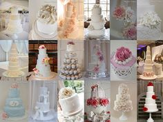 2014 wedding cakes by Andria at Magical Cakery (www.magicalcakery.co.uk)