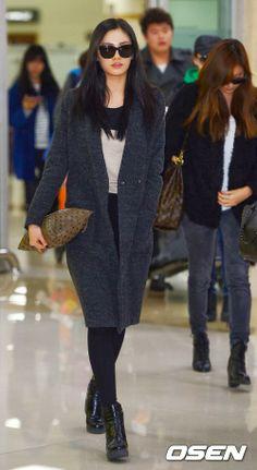 Airport style // NANA #kpop