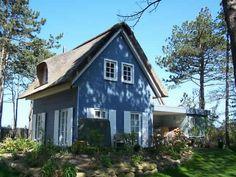 Ostsee-Ferienhaus Strand Gut an der Stein: 3 Schlafzimmer, für bis zu 5 Personen. Exklusives Ostsee-Anwesen unter Reet 25 m zum Strand mit Sauna/Kamin/WLAN | FeWo-direkt
