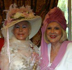 Winners of the Vintage category Christine Gudasky and Teddy Caplen