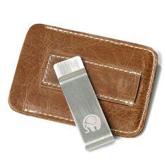 Vintage Genuine Leather Card Holder Wallet Purse For Men Wom
